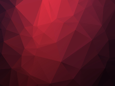 red: dark red triangles background Illustration