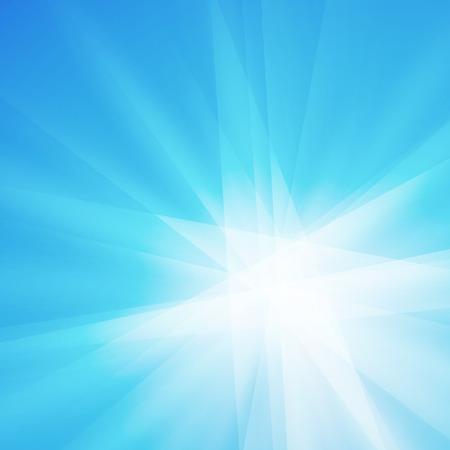 lucero: rayos azules de cristal de la textura de fondo