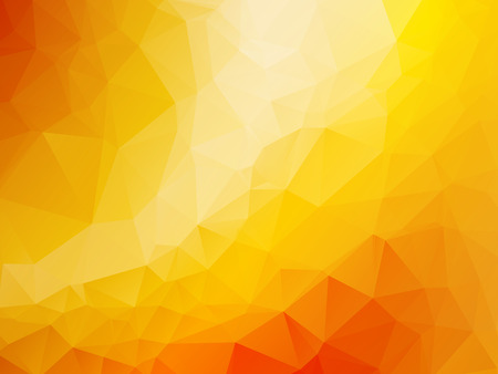 triangle abstract background of yellow orange gold