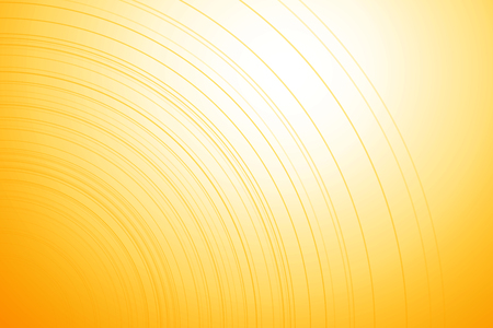 spot light: Bright yellow background with thin lines