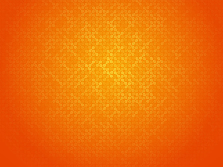 linking: abstract orange linking dots background Illustration