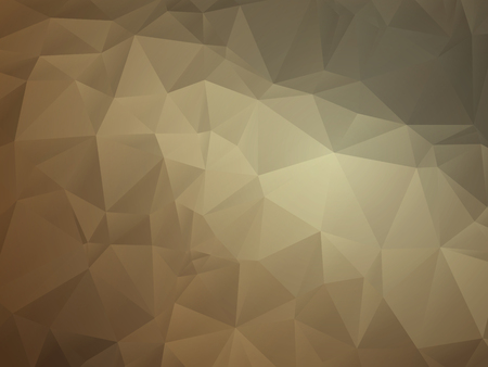 leather background: Abstract geometric triangular light brown leather background
