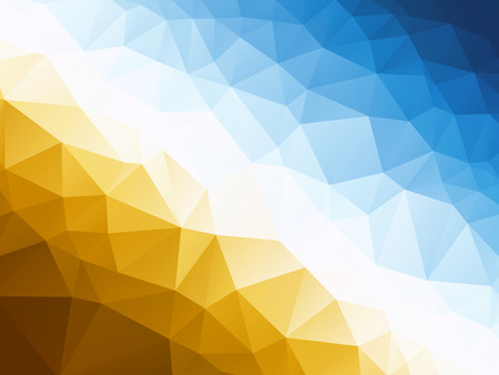 Abstract blue yellow background