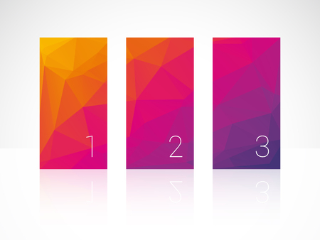 vertical bars: vertical color bars with numbers