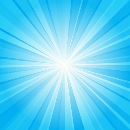 burst background: blue ray background