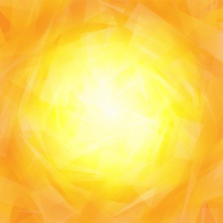 yellow orange: Vibrant yellow orange background with triangles