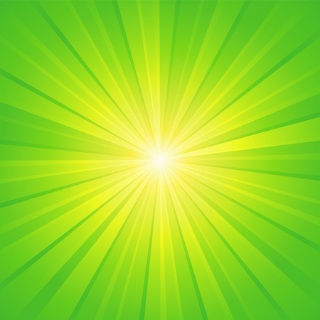 green yellow white ray background
