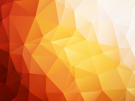 orange background low poly