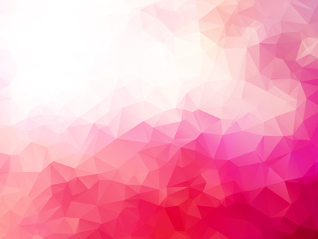 abstract triangular pink red background Vectores