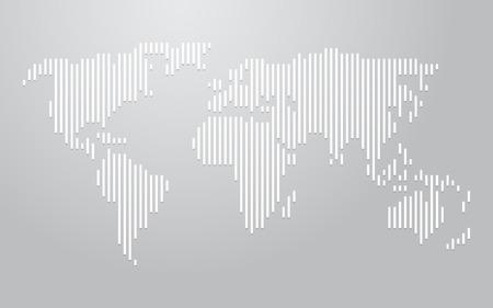 vertical lines: world map vertical lines