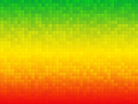green background: yellow green red mosaic background
