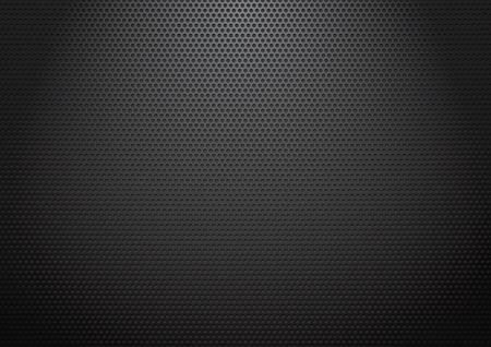 黒パンチング シート 写真素材