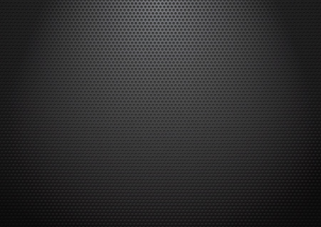 Black perforated sheets Stock Photo
