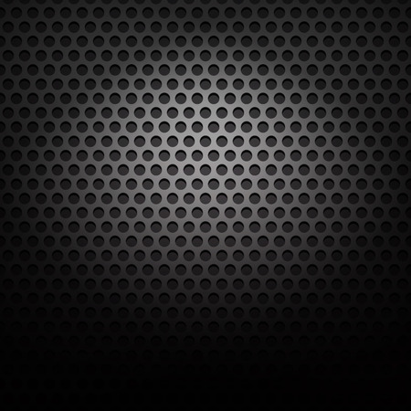 black pattern: Perforated metal platepattern