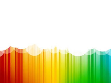 colorful stripes: Abstract clouds background colorful stripes Illustration