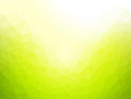 green background: Geometric green texture background