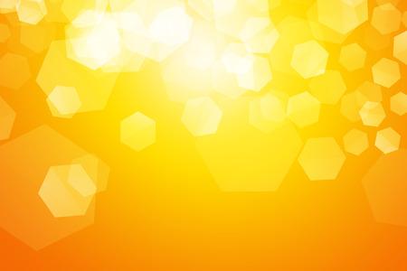 Gelb glitzern Unschärfe Hexagon Hintergrund Standard-Bild - 57536632