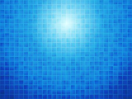 tiled: blue checkered tiled background