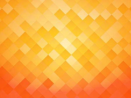 abstrakte Kachel-orangefarbenen Hintergrund