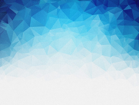 grained: grained geometric blue ice texture background Stock Photo