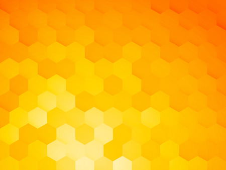 background with yellow hexagon
