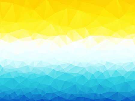yellow blue abstract background