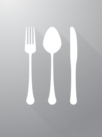 fork knife: fork knife and spoon