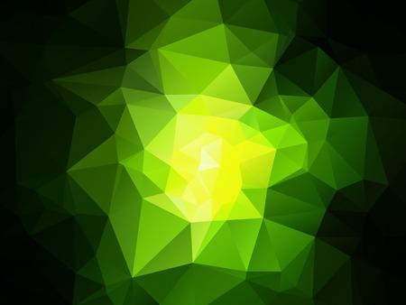 dark green polygonal background
