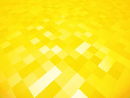 yellow tile geometric background