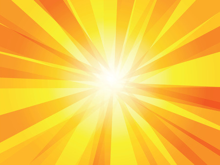 shiny sun vector ray background Иллюстрация