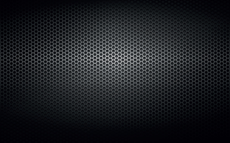 Black steel metal plate background Vectores