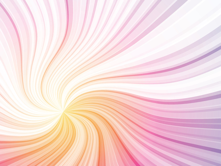 color curved rays background