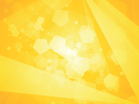 diamond texture: yellow geometric background polygon shapes Illustration