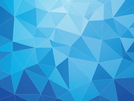 blue geometric abstract pattern with white lines