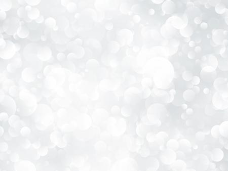 Silver bokeh shining background.