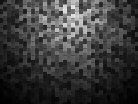 Abstract tile background, metallic wallpaper on a plain background.