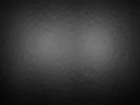 abstract black background with polygonal pattern Illustration