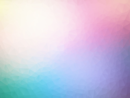 vector abstract pastel spectrum triangles geometric background