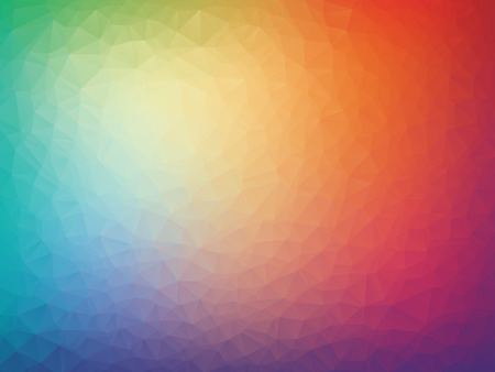 vector abstract colorful triangles geometric background Ilustrace