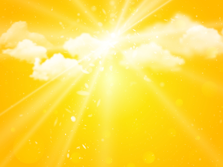sunshine sky abstract summer background