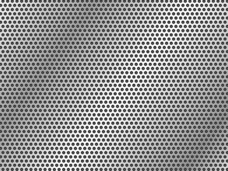 abstract silver metalic texture sheets Standard-Bild - 102337083