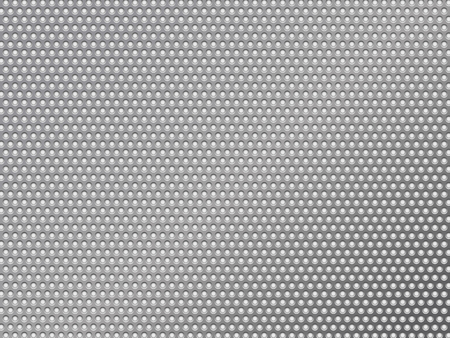 perforated silver metalic background