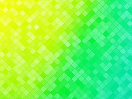 abstract green yellow tiled background Standard-Bild - 106229395