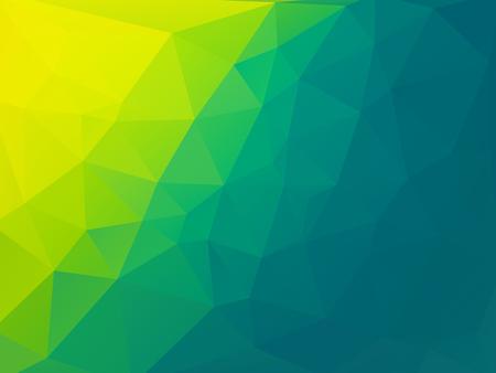 bio green polygonal vector background Standard-Bild - 106229396