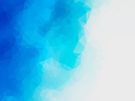 abstract blue water polygonal vector background Standard-Bild - 106229398