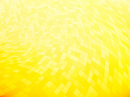 squares tiled yellow curved pattern Standard-Bild - 112177183