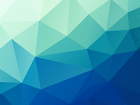 abstract green blue pastel low poly vector background Standard-Bild - 106229401
