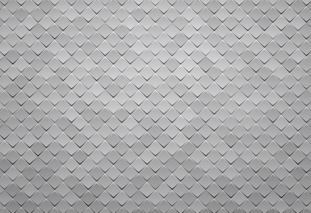 abstract gray square tile background Standard-Bild - 112177186