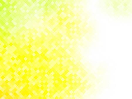 yellow tile squared pattern Standard-Bild - 112177187