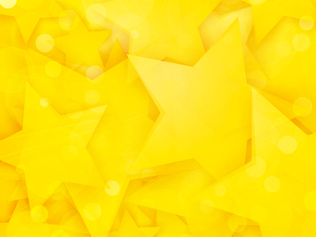 party background with yellow stars Standard-Bild - 112177188